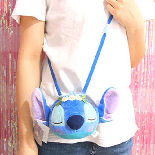 Cute Winnie Stitch Plush Backpacks