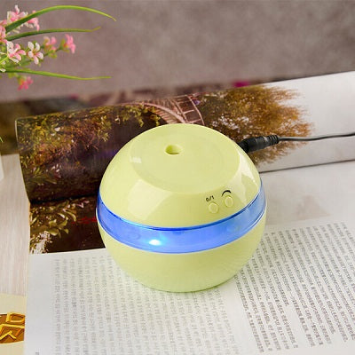 DC 5V Ultrasonic Air Aroma Humidifier Color LED Lights Electric Aromatherapy Essential Oil