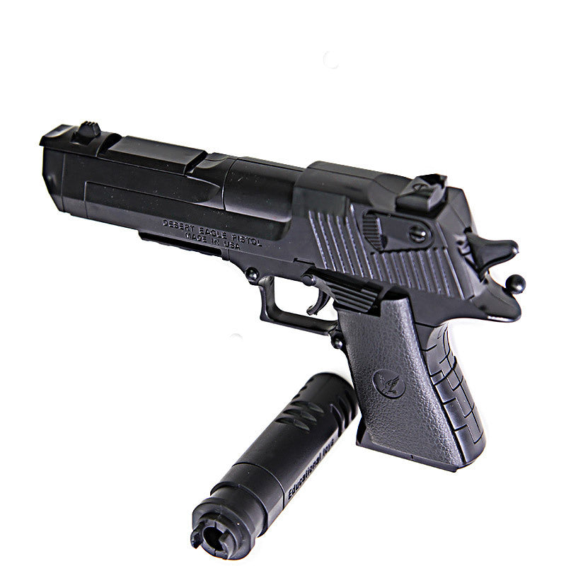 Building Blocks Toy Gun Desert Eagle Assembly Toy Puzzle