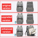 Mummy Daddy Backpack. Large Capacity Waterproof Casual Laptop Bag