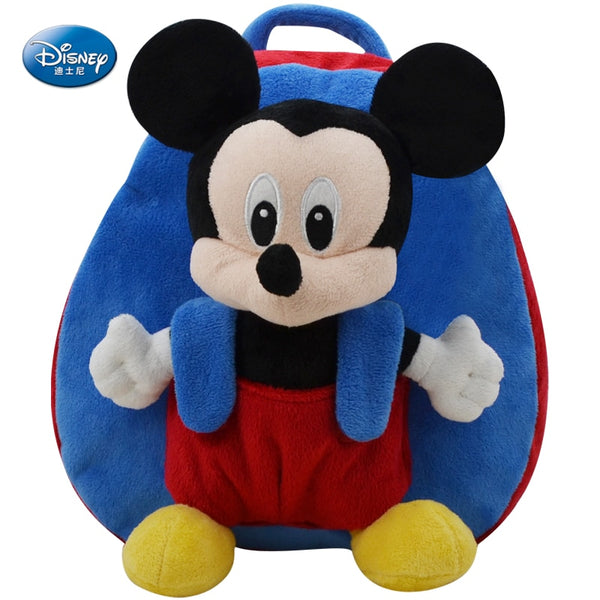 Mickey Minnie Stitch Plush Backpack