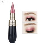 Double-end Waterproof Liquid Eye Shadow Combination Pencil Cosmetic