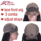 Lace Front Wigs Body Wave Brazilian Remy 100% Human Hair