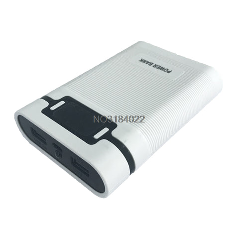 Dual USB LCD Anti-reverse Portable Power Bank Box