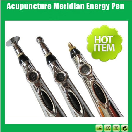 Image of Electronic Acupuncture Pen Electric Meridians Laser
