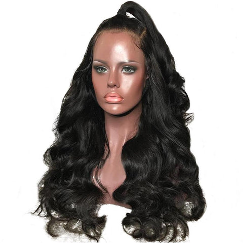 Image of 180% Density 360 Lace Frontal Wig Pre Plucked With Baby Hair