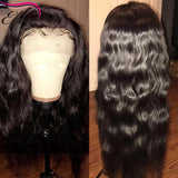 180% Density 360 Lace Frontal Wig Pre Plucked With Baby Hair