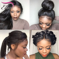 Full Lace Wigs Pre Plucked Natural Hairline With Baby Hair