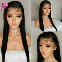 Full Lace Human Hair Wigs Pre Plucked With Baby Hair Brazilian Remy Hair