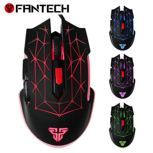 X7 Macro RGB Mouse 4800DPI Optical 6D USB Wired Gaming Mouse