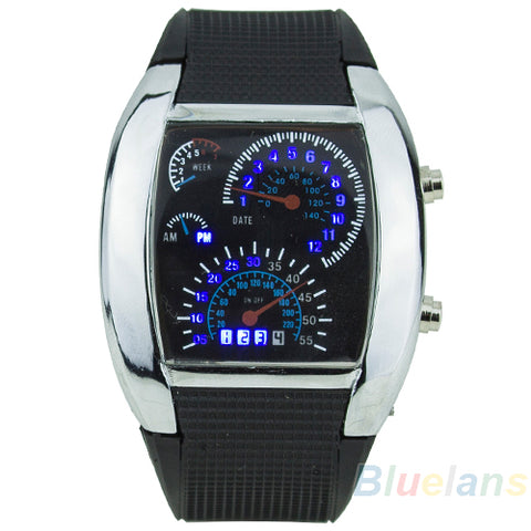 Image of Limited Edition Stainless Steel Sport LED Wristwatch