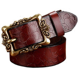 Fashion Wide Genuine Leather Belts for Women