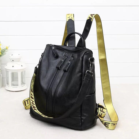 Youth Leather Backpacks