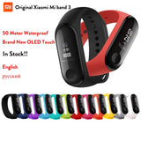 Fitness Bracelet Xiaomi Mi Band 3 Russian Version English Language For iOS Android Phone