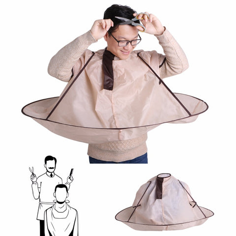 Image of Foldable Hair Cutting Cloak