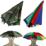 Foldable Headwear Umbrella for Fishing