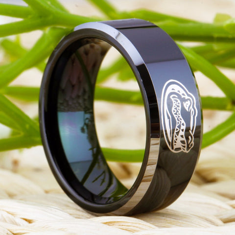 Image of Limited Edition Florida Gators Tungsten Wedding Band