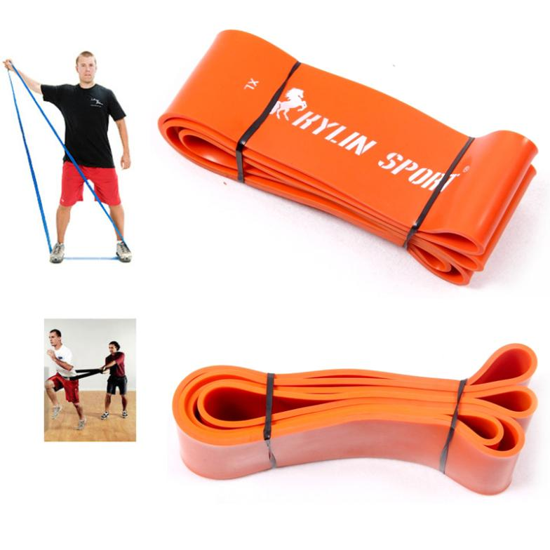 Nature Pure Latex Resistance Bands 6 Size Fitness Power Training