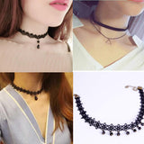 Hollow Flower Chokers Necklace Collar