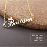 Customized Name Necklace Birthday Gift
