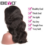 Lace Front Human Hair Wigs For Black Women Pre Plucked Body Wave