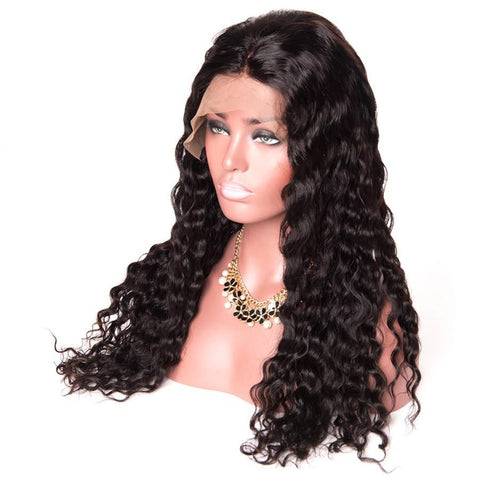 Image of 360 Lace Frontal Wig Pre Plucked With Baby Hair