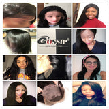 Peruvian Straight Lace Front  Human Hair Wigs For Black Women