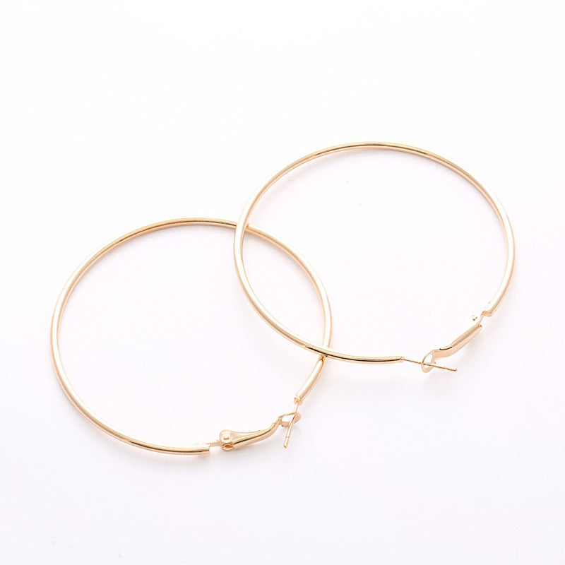 Stainless Steel Big Hoop Earrings