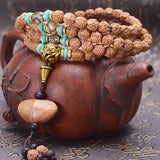 108 Tibetan Buddhist Prayer Beads Mala Beads Bracelet