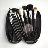 12 Pcs Makeup Brushes With PU Bag