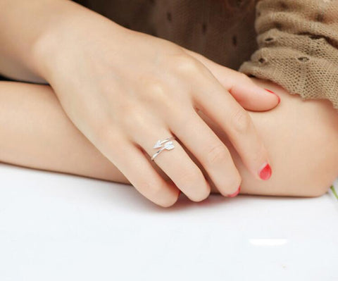 Image of Arrow Crystal Adjustable Engagement Ring