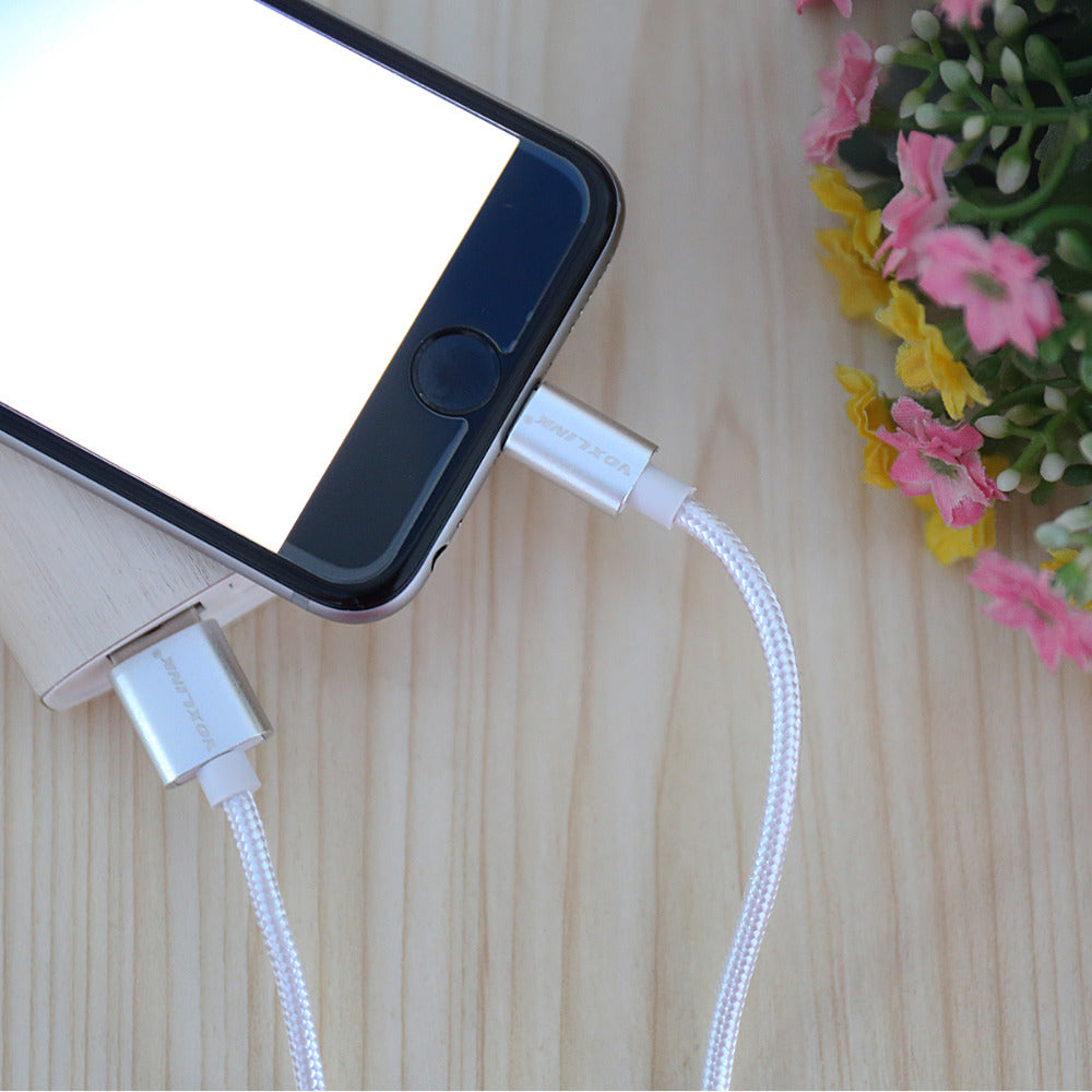 1M 2M 3M Fast Charging Sync Data USB Cable For iPhone 8 7 6s Plus 5s iPad Mini