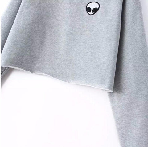 Image of Aliens Crew Harajuku Hoodies