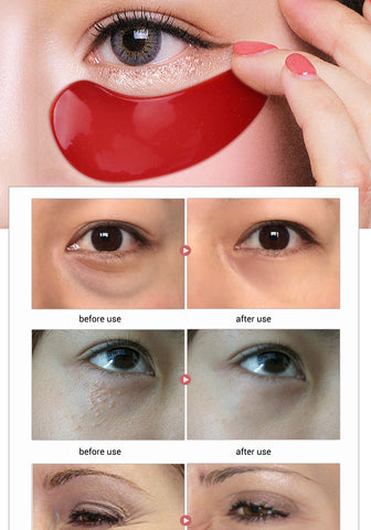 24K Gold Serum Eye Mask Anti-Aging Anti Wrinkle Remove Dark Circle Collagen Eye Patches