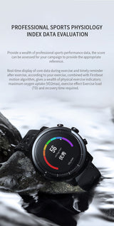 Xiaomi HUAMI Strato Sports Watch 2 Bluetooth GPS 512MB/4GB 11 Kinds of Sports Modes 5ATM