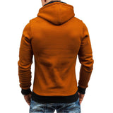 Men Sudaderas Hombre Hip Hop Hooded Zipper Cardigan