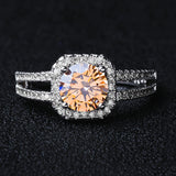 Limited Edition Clear CZ Zirconia Wedding Ring Size 5 6 7 8 9 10 11 12