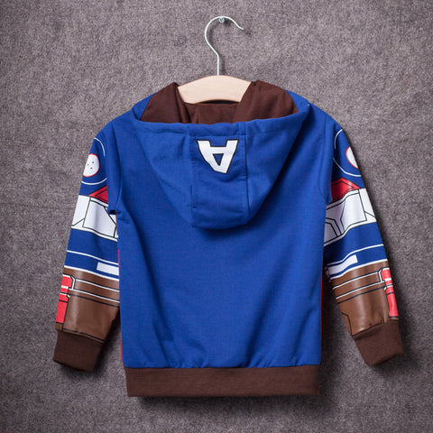 Image of My Kids Boy's Coat Avengers Hoodies - sweater