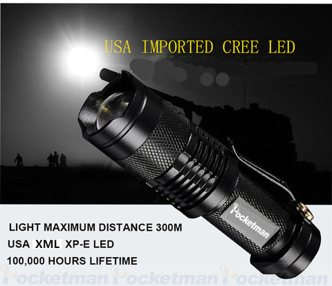 Image of Military Grade Tactical LED Flashlight XML-T6