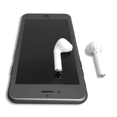 Wireless Earbuds Bluetooth V4.2 For Iphone X Plus 6s 5 6 7 8 Plus SE Galaxy S8 S9 Plus LG HBQ i7