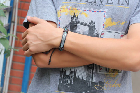 Image of Where There is a Will There is a Way Leather Bracelets