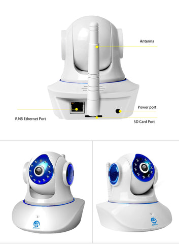 Image of 720P 1080P HD Smart WiFi Home Security IP Camera