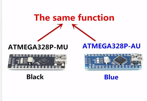 Image of Nano Mini USB With the bootloader compatible for arduino Nano 3.0 controller