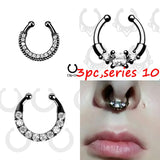 Septum Piercing Nose Ring Hoop