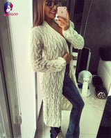 Autumn And Spring Long Sleeve Cardigan Jacket