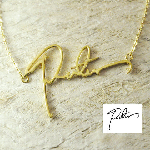 Image of Personalized Name Necklace