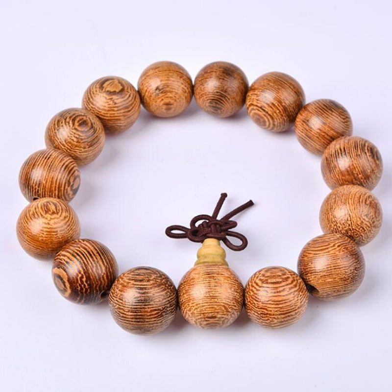 Natural Chicken Woods Sandalwood Buddhist Prayer Beads