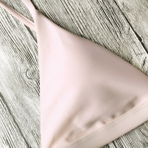 Image of Soft Pad Thong Bathing Suits