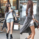 European Thin Kimono Cardigan Long Sleeve