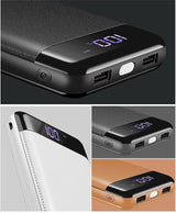 2 USB External Mobile Quick charger Power Bank